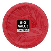 Unique Red Plate Value Pack, 7 inch