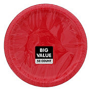 Unique Red Plate Value Pack, 9 inch
