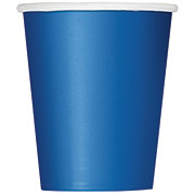 Unique Royal Blue 9 oz Cup
