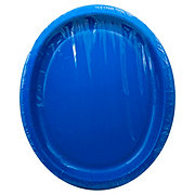 Unique Royal Blue Oval Plate