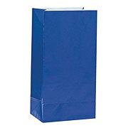 Unique Royal Blue Paper Party Bags