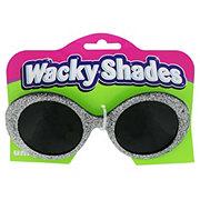 Unique Silver Glitter Glasses