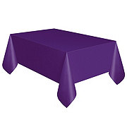 Unique Solid Purple Table Cover