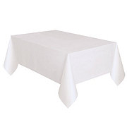 Unique Solid White Table Cover