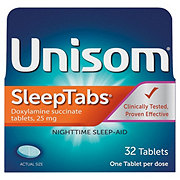 Unisom Sleeptabs Nighttime Sleep-aid 25 mg Tablets
