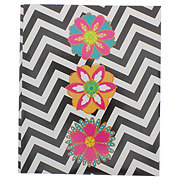 Unison 3 Prong Laminated Fashion Paper Portfolio, Assorted Colors