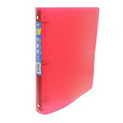 Unison Beautone 3 Ring Poly Binder, Assorted Colors