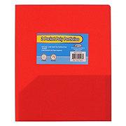 Unison Two Pocket Poly Portfolio, Assorted Colors