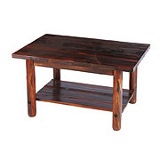 United General Supply Char Log Coffee Table