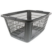 United Solutions Rectangular Laundry Basket, Cool Gray