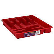 United Solutions Red Cutlery Tray