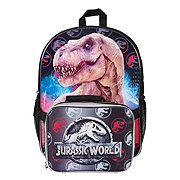 Universal Jurassic Backpack With Detach Lunchbox