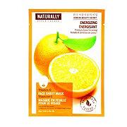 Upper Canada Naturally Energizing Vitamin C Face Sheet Mask