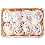 Upper Crust White Iced Cinnamon Rolls