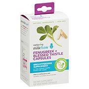 Upspring Milkflow Fenugreek Blessed Thistle Capsules Shop Breast Feeding Supplements At H E B