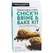 Urban Accents Chick'n Brine & Bake Kit Tuscan Garlic & Herb