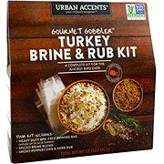 Urban Accents Urban Accents Gourmet Gobbler Turkey Brine And Rub Kit