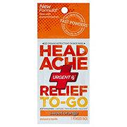 Urgent Rx Head Ache Relief To-Go, Sweet Orange