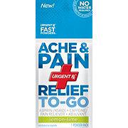 UrgentRx Ache & Pain Relief To-Go, Lemon-Lime