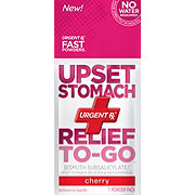 UrgentRx Upset Stomach Relief To-Go, Cherry