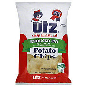 Utz Reduced Fat Potato Chips Family Size