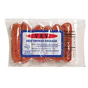 V&V Beef Smoked Link Sausage