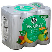 V8 +Energy Tropical Green 8 oz Cans