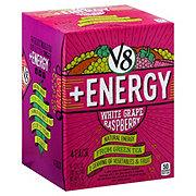 V8 +Energy White Grape Raspberry