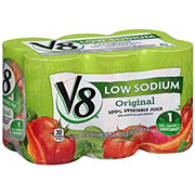 V8 Original 100% Vegetable Juice Low Sodium