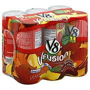V8 V-Fusion Vegetable and Fruit Strawberry Banana Juice 6 PK Cans