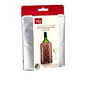 VacuVin Active Cooler Wine Chrome