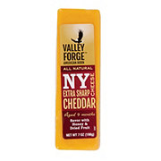 Valley Forge All Natural New York Style Extra Sharp Yellow Cheddar Cheese