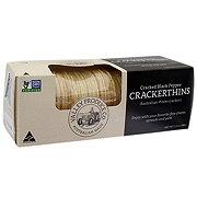 Valley Produce Company Black Pepper Crackerthins Australian Watercrackers