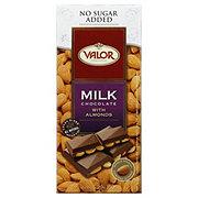Valor Milk Chocolate with Almonds