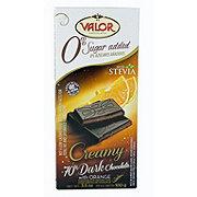 Valor No Sugar Added Creamy Dark Chocolate Orange Bar