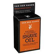 Van Der Hagen Natural And Organic Shave Oil