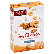 Van's Say Cheese! Crispy Whole Grain Baked Crackers