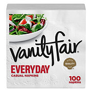 Vanity Fair Everyday White Paper Napkins