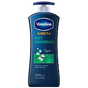 Vaseline Men Fast Absorbing Healing Moisture Body Lotion