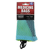Vaultz Mesh Medicine Bags, Assorted Colors