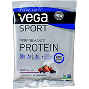 Vega Sport Performance Protein Drink Mix Single, Berry