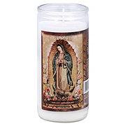Veladoras Misticas Virgen De Guadalupe 14 Day Candle Gold