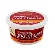 Vermont Butter & Cheese Spreadable Goat Cheese - Roasted Red Pepper