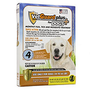 VetGaurd Plus Flea & Tick Treatment for Large Dogs (34-66 LBS)