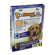 VetGaurd Plus Flea & Tick Treatment for Xlarge Dogs (66+ LBS)