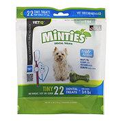 VetIQ Minties Dental Treats for Tiny Dogs (3-9 LBS)