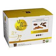 Via Bom Dia Cinnamon Chocolate Cacao Medium Roast Single Serve Coffee Cups