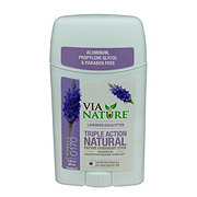 Via Nature Lavender Eucalyptus Natural Deodorant Stick