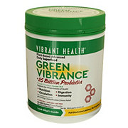 Vibrant Health Green Vibrance Organic Greens And Freeze Dried Grass Juices Powder
