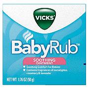 Vicks BabyRub Soothing Ointment